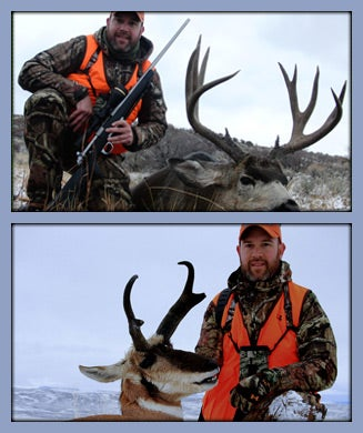 Double Play on Pronghorns and Mule Deer