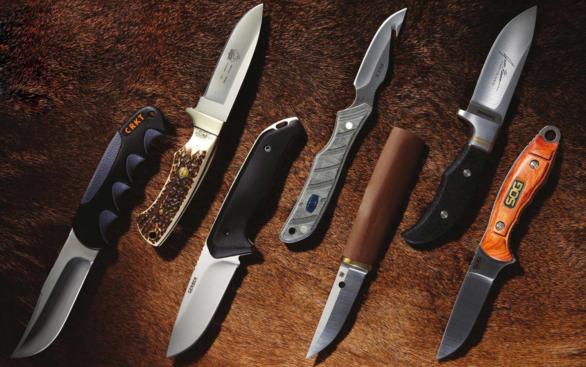 fixed-blade hunting knives