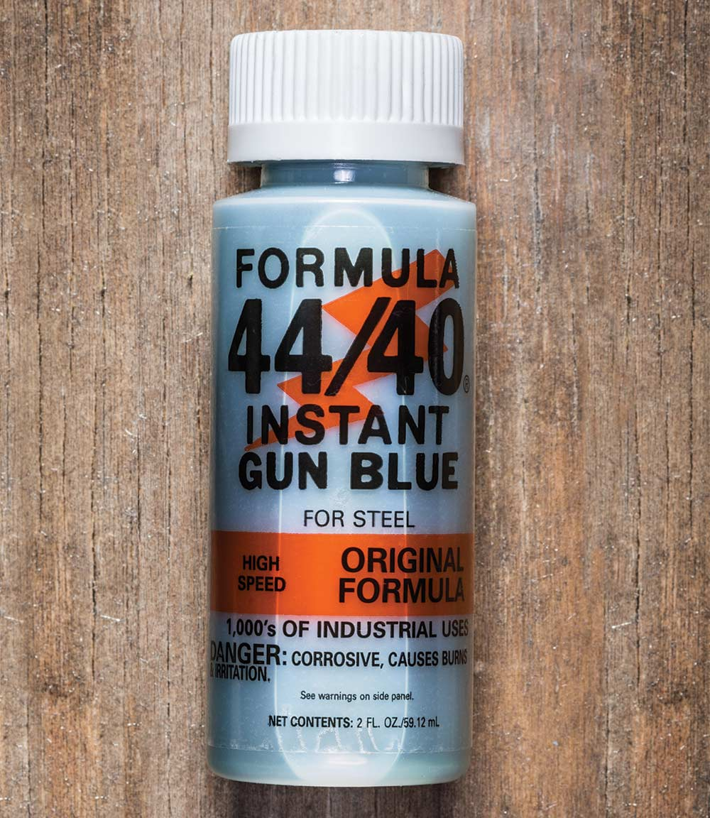 formula 44/40 instant gun blue