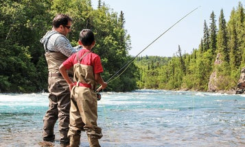 Boys in Big Country: A Father-Son Fishing Trip to Alaska