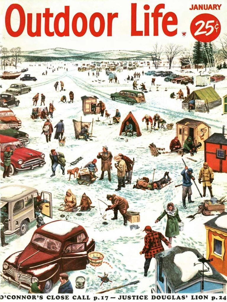 January 1954 Cover of Outdoor Life