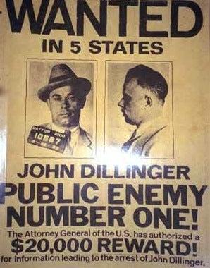 Dillinger Gun Auction