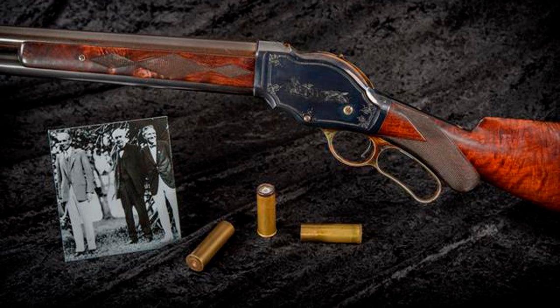 Gun of the Week: Winchester Model 1887, Serial No. 1