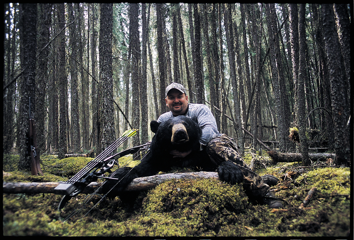 Why You Should Try Hunting Saskatchewan for an Unforgettable Spring Bear Bowhunt