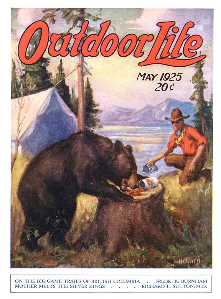 Cover of the May 1925 issue of Outdoor Life