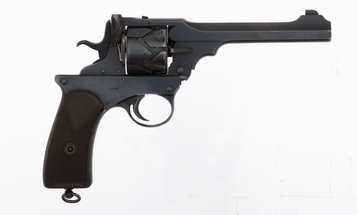 Gun of the Week: Webley-Fosbery Automatic Revolver