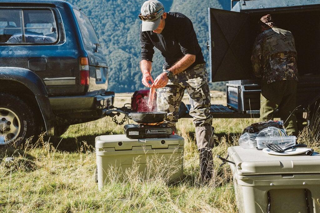 camp cooking hunt