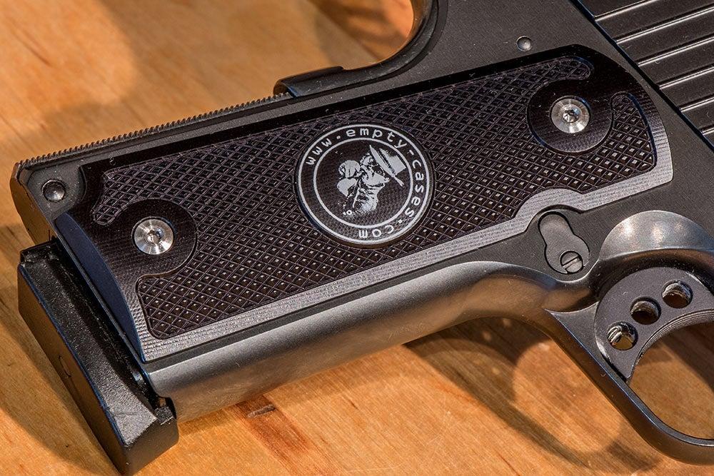 AlumaGrip custom gun grip