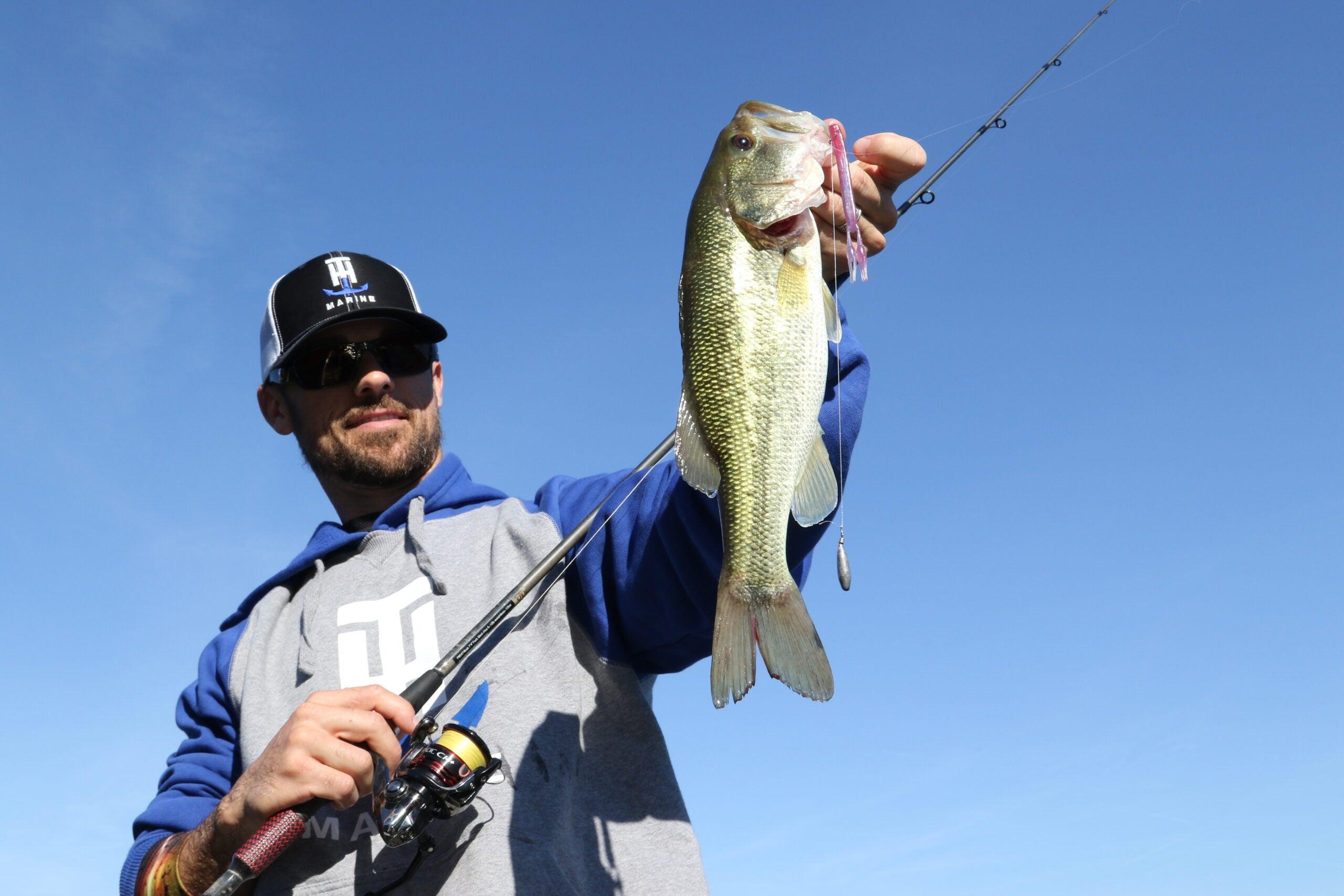 fishing for prespawn bass