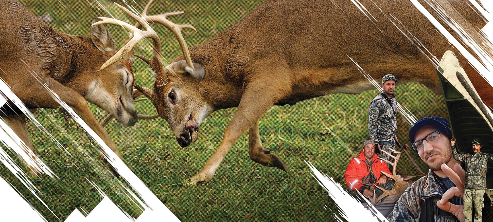 deer hunting the rut