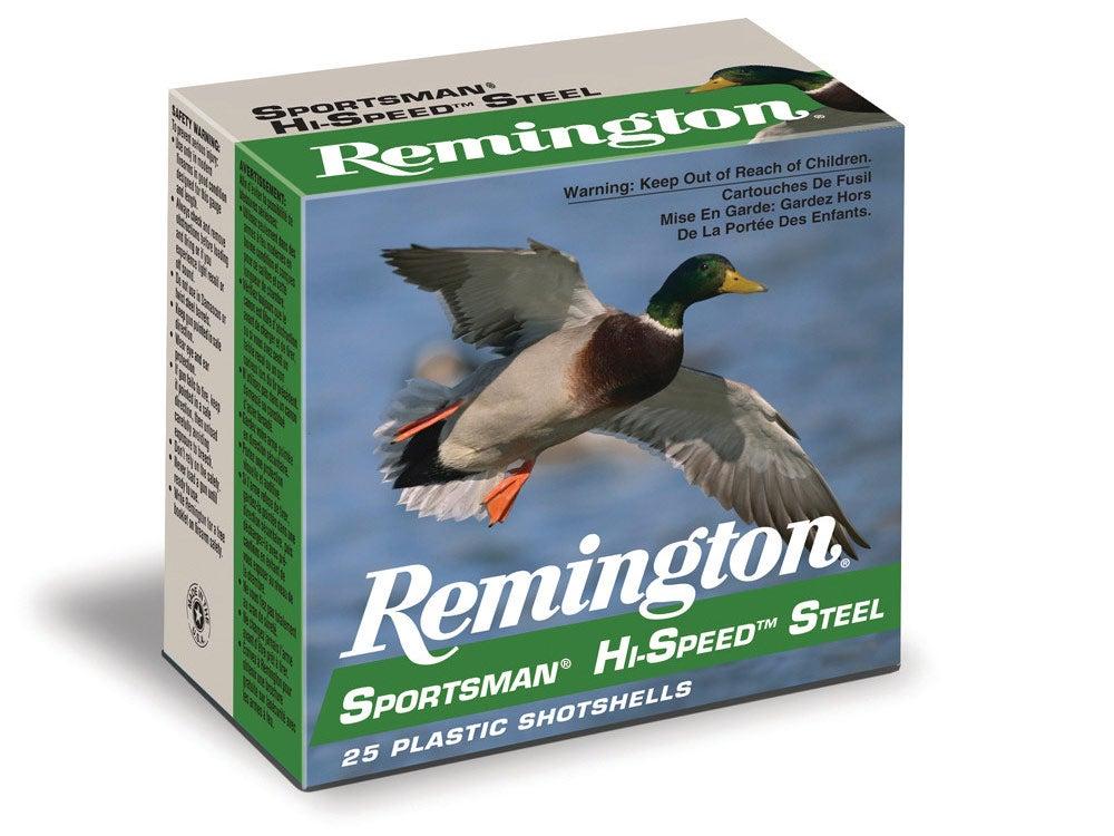 Remington Sportsman Hi-Speed Steel ammo