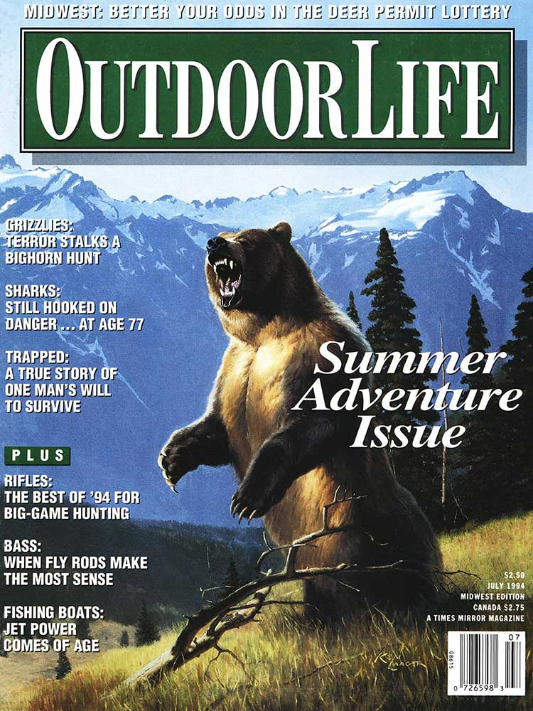 July 1994 Cover of Outdoor Life