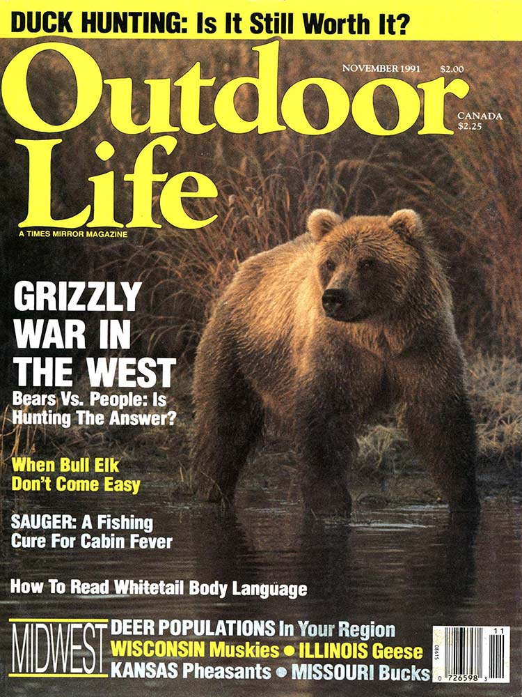November 1991 Cover of Outdoor Life