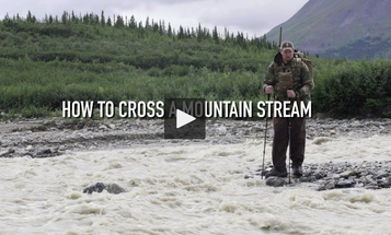 How to Safely Cross Mountain Streams with a Heavy Pack