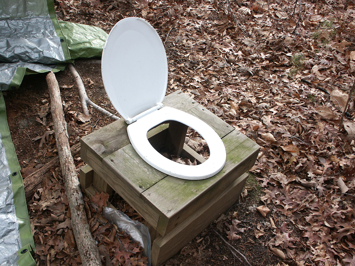 How to Install an Old Fashioned Outhouse for Emergency Sanitation