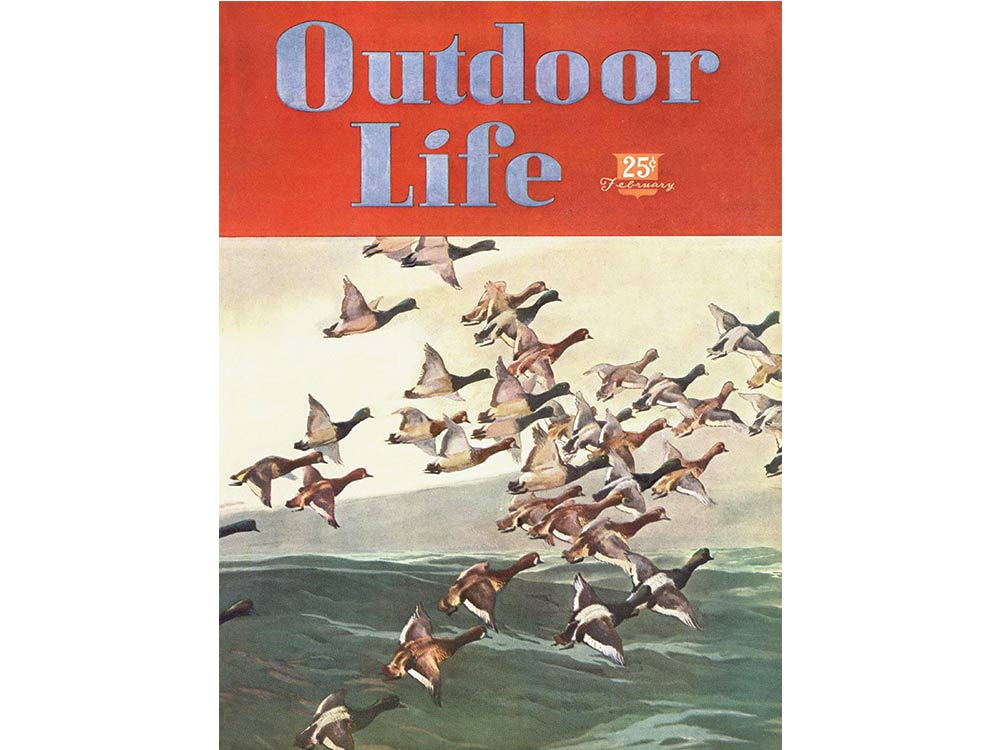 January 1947 cover of Outdoor Life