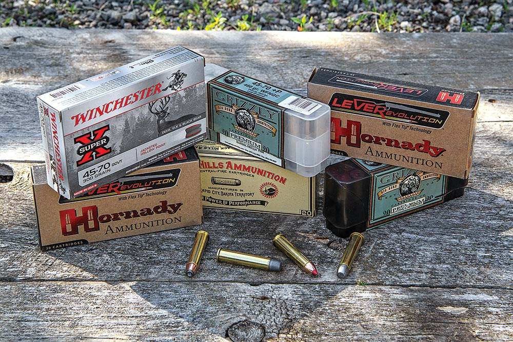 .45/70 loaded in ammo for every type of big game