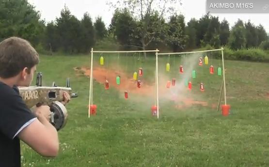 Video: AA-12 Fully Automatic Shotgun Demonstration