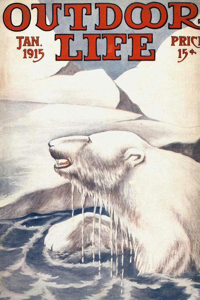 January 1943 Cover of Outdoor Life