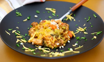 One-Bowl Meal: A Recipe for Cheesy Ground Venison and Grains