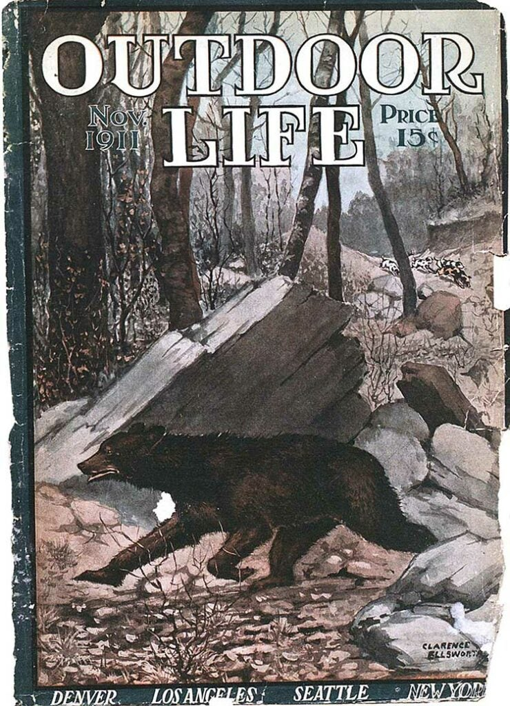 Cover of the November 1911 issue of Outdoor Life