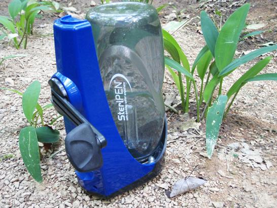 SteriPEN Sidewinder: A Hand Crank UV Light Water Purifier