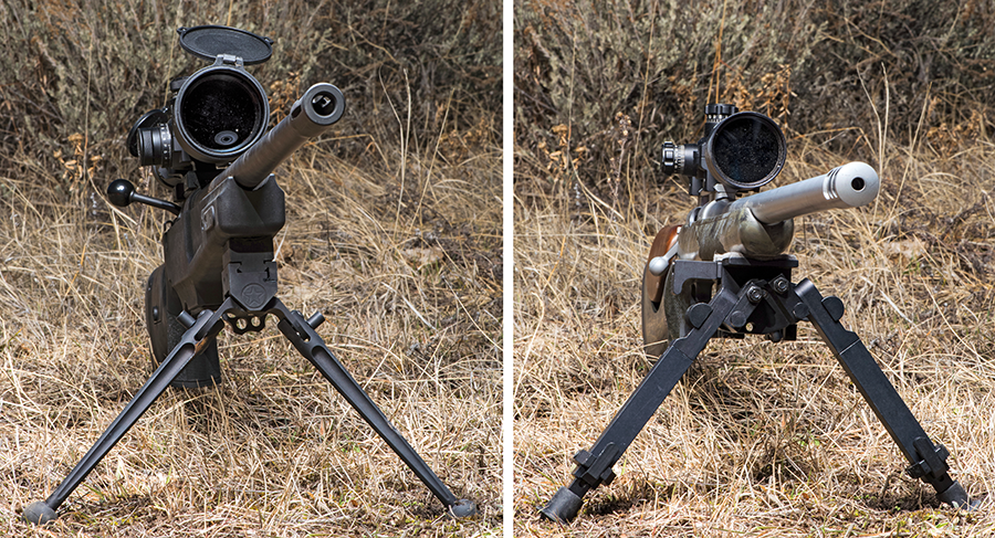 Outdoor Life bipod test
