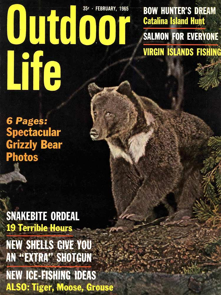 February 1965 Cover of Outdoor Life