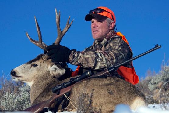 Rookie Season: Brett Favre's First Mule Deer