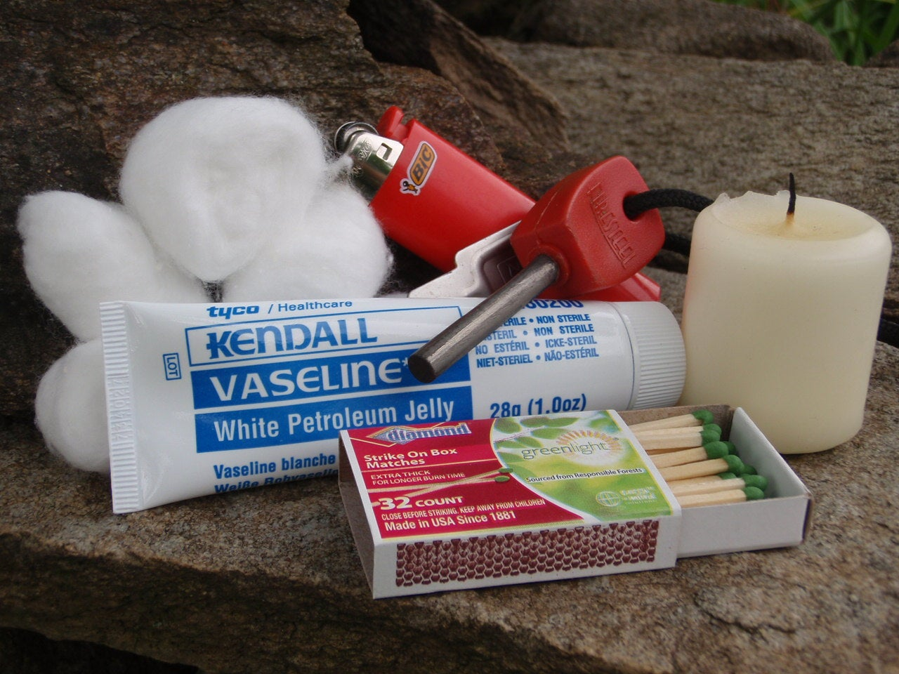 Survival Gear: Build Your Own Fire Starting Kit