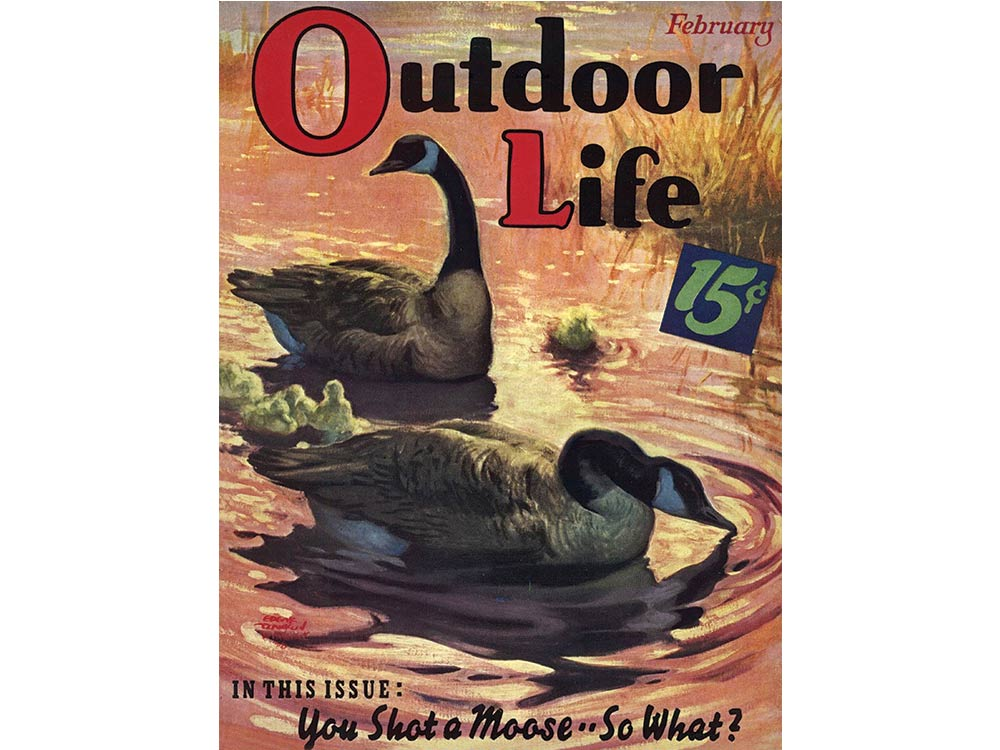 February 1939 cover of Outdoor Life