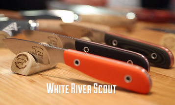 New Hunting Knife: White River Scout