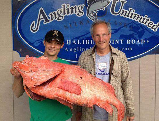 Record Shortraker Rockfish Estimated to Be 200 Years Old