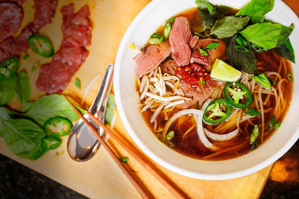 A Recipe for Vietnamese Venison Tenderloin Pho