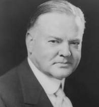 Herbert Hoover portrait
