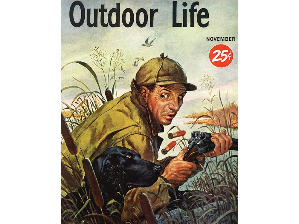 November 1951 cover of Outdoor Life