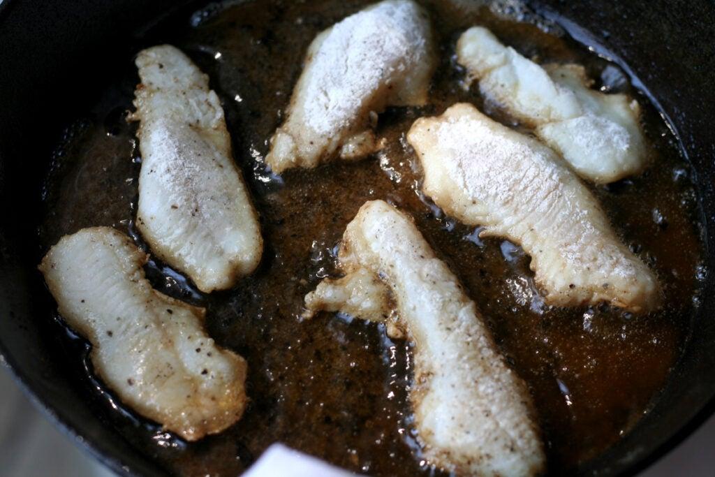 frying perch fillets