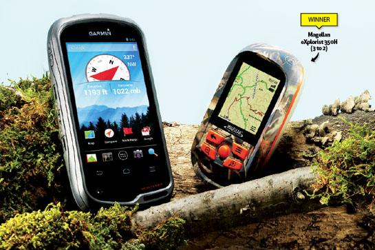 GPS Review: Magellan Explorist 350H vs Garmin Monterra
