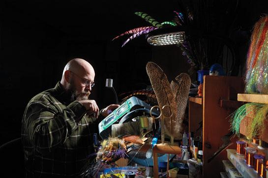 Shawn Brillon on How Flies End Up in the Orvis Catalog