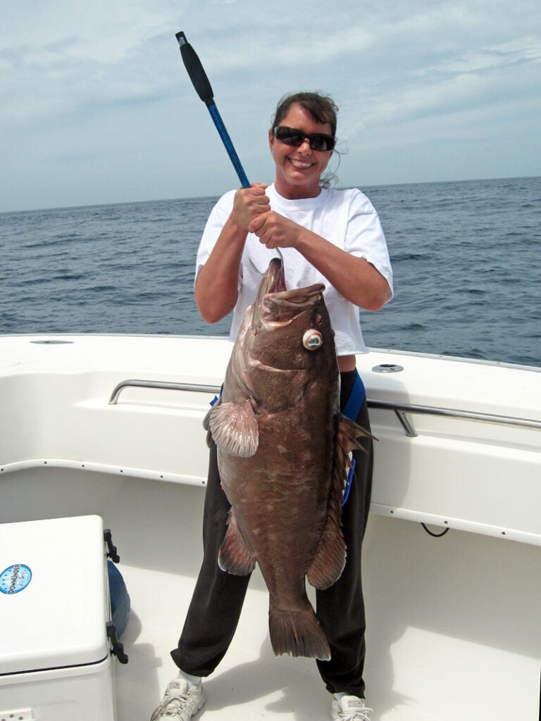 httpswww.outdoorlife.comsitesoutdoorlife.comfilesimport2014importImage2009photo3Dr._Julie_Ball_with_a_nice_snowy_grouper_0.jpg