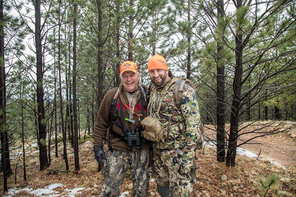 sam soholt open country bus elk hunting