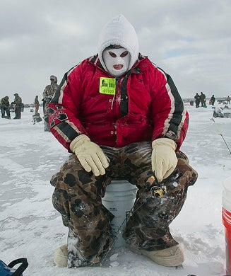 Photos: The World's Largest Icefishing Tournament at -50 Degrees