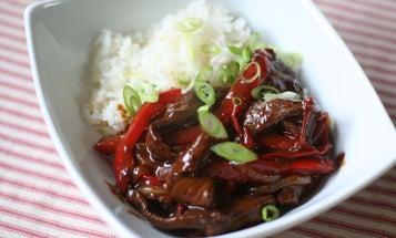 A Recipe for Venison Pepper Steak Stir-Fry