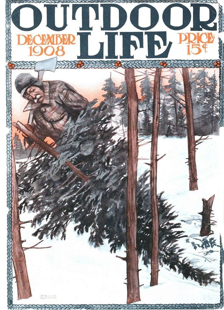 December 1908 Cover of Outdoor Life