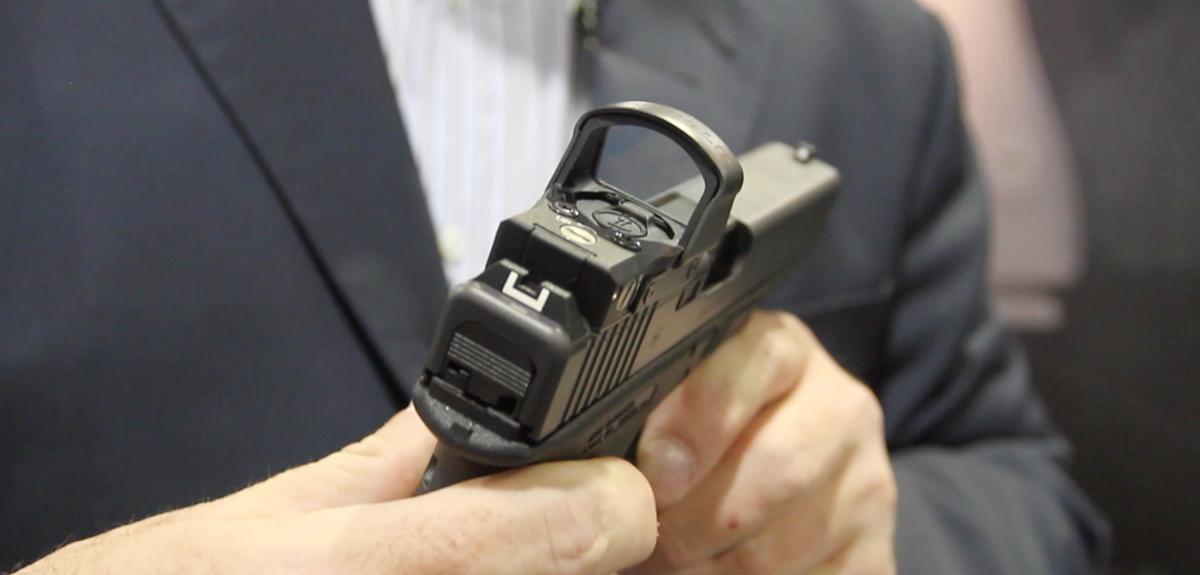 First Look: Glock Gen4 MOS Pistol