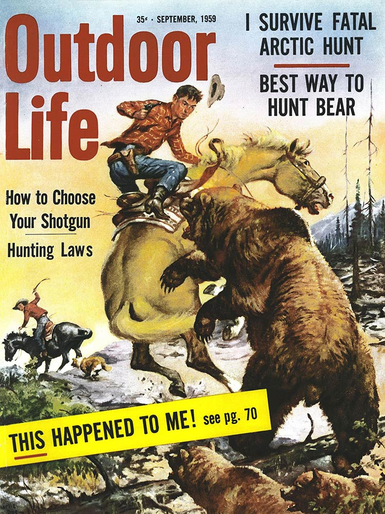 September 1959 Cover of Outdoor Life