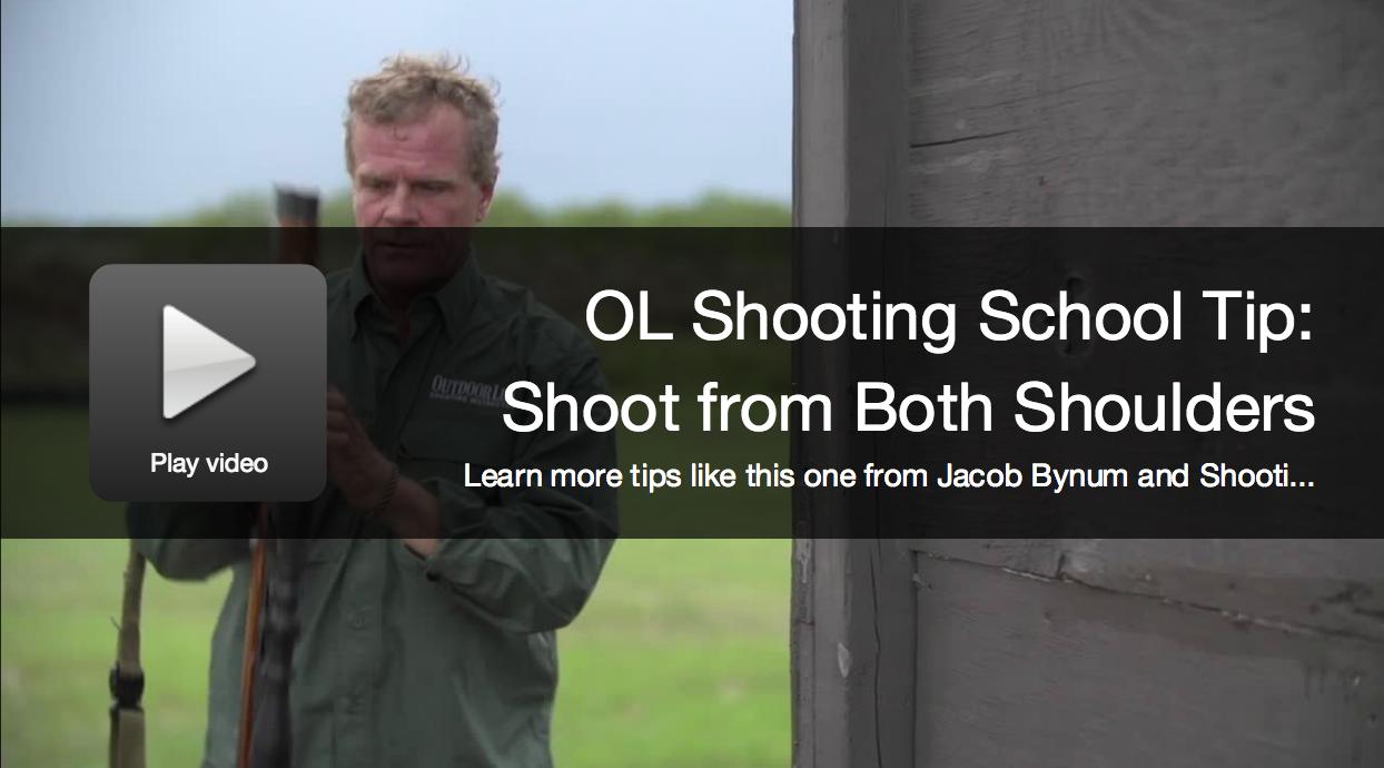 OL Shooting School Tip: Shoot from Both Shoulders