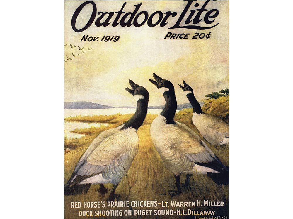 November 1919 cover of Outdoor Life