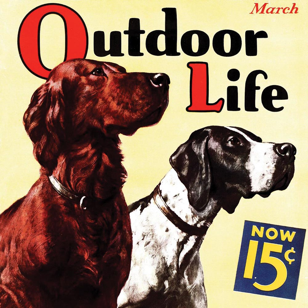 outdoor life magazine cover 1936
