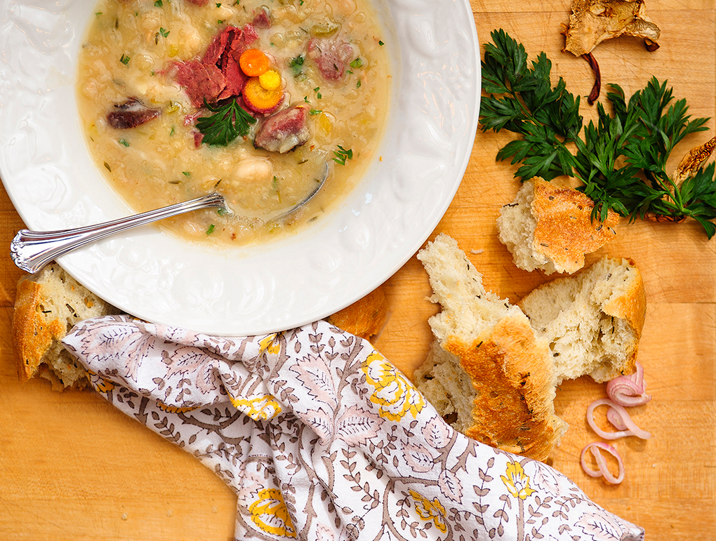 A Recipe for Bear Ham and White Bean Soup